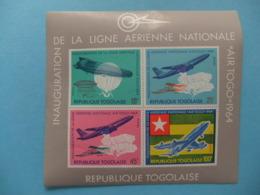 TOGO 1964 Ligne Aerienne Nationale AIR TOGO Yvert Bloc14 ** MNH - Togo (1960-...)
