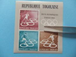 TOGO 1964 Juegos Olimpicos De TOKYO Yvert Bloc12 ** MNH - Togo (1960-...)