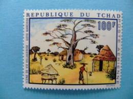 Tchad Pintura Village, Goto Narcisse Yvert PA 65 ** MNH - Chad (1960-...)