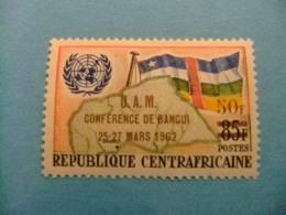 Republica Centroafricana 1962 Conferencia Union Africana Yvert 19 ** MNH - República Centroafricana