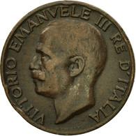Monnaie, Italie, Vittorio Emanuele III, 5 Centesimi, 1923, Rome, TTB, Bronze - 1861-1946 : Royaume