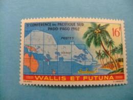 Wallis Et Futuna 1962 Conferencia En El Pacifico Sur Yvert 161 ** MNH - Wallis Y Futuna