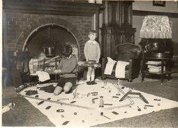 FAMILIE  UIT  LINCE  1934    -  GEMEENTE  SPIMONT   PROVINCIE   LUIK   -   11.50 OP 8.50 CM - Photos