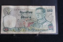 M-An / Billet  -Thaïlande, 20 Baht   / Année ? - Thaïlande