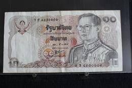 M-An / Billet  -Thaïlande, 10 Baht   / Année ? - Thaïlande