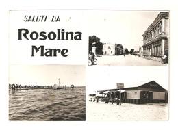 CT--02848-- SALUTI DA ROSOLINA MARE (ROVIGO) 3 VEDUTINE - Italia