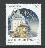Oostenrijk, Mi 3440  Jaar 2018, Kerstmis,   Gestempeld - 1945-.... 2. Republik