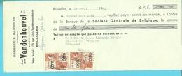 BROUWERIJ / BRASSERIE VANDENHEUVEL ST-MICHEL BRUXELLES 1950 - Alimentaire
