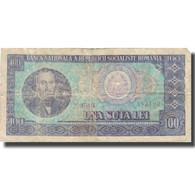 Billet, Roumanie, 100 Lei, 1966, 1966-, KM:97a, B - Roumanie