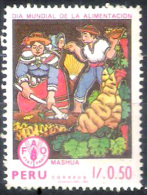 7676  FAO - Peru - MNH - Free Shipping - 1,25 - Alimentation