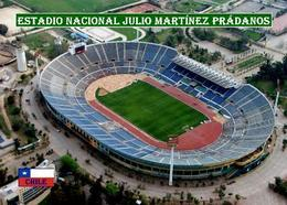 Chile Julio Martinez Pradanos National Stadium New Postcard Satdion AK - Calcio