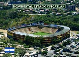 El Salvador Monumental Estadio Cuscatlan Football Stadium New Postcard Stadion AK - Salvador