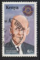 Kenya Rotary 6SH Fine Used - Kenya (1963-...)