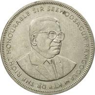 Monnaie, Mauritius, 5 Rupees, 1987, TTB, Copper-nickel, KM:56 - Maurice