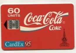 TK 00131 GAMBIA - Chip Coca-Cola &CardEx95 - Gambia
