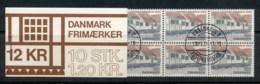 Denmark 1978 Post Office, Old Town In Aarhus Booklet CTO - Denmark