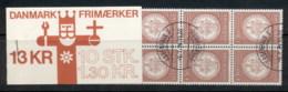 Denmark 1979 University Seal Booklet CTO - Denmark