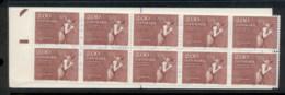 Denmark 1982 Europa Abolition Of Adscription Booklet MUH - Denmark
