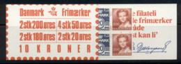 Denmark 1982-85 Booklet 4x50, 2x80, 2x20, 2x2k MUH - Denmark