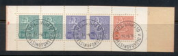 Finland 1963-67 Arms Of Finland Booklet 2x10, 2x5, 1x20 CTO - Finland