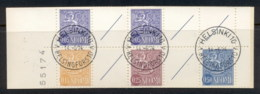 Finland 1963-67 Arms Of Finland Booklet 2x5, 15, 25 5 Labels CTO - Finland
