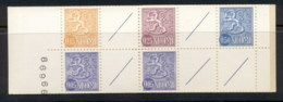 Finland 1963-67 Arms Of Finland Booklet 2x5, 15, 25 5 Labels MUH - Finland