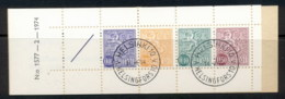 Finland 1968-78 Arms Of Finland Booklet 1x05,1x35,1x10,1x50, 1 Label Green Cover CTO - Finland