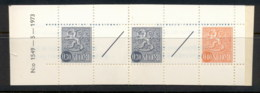 Finland 1968-78 Arms Of Finland Booklet 2x30, 1x40, 2 Labels MUH - Boekjes