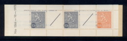 Finland 1968-78 Arms Of Finland Booklet 2x30, 1x40, 2 Labels MUH - Finland
