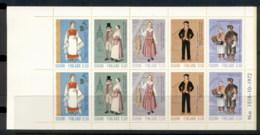 Finland 1972 Regional Costumes Booklet MUH - Finland