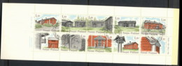 Finland 1979 Traditional Houses Booklet CTO - Finland