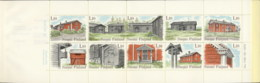 Finland 1979 Traditional Houses Booklet MUH - Finland
