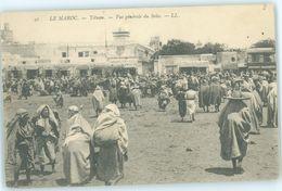 MAROC MAROKKO MOROCCO  CPA  TETUAN - VUE GENERALE DU SOKO - Morocco