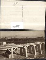 45000,Lausanne Le Pont Chauderon Montbenon Viadukt Brücke Eisenbahn Kt Waadt - Brücken