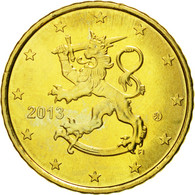 Finlande, 50 Euro Cent, 2013, SPL, Laiton, KM:128 - Finlande