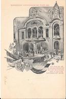 Exposition Universelle De PARIS 1900 : - Le Palais De L'Enseignement Et Du Matériel Des Sciences Lettres Et Arts - Expositions