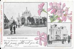 Paris, Exposition Universelle 1900 - Entrée De La Métallugie - Le Palais De La Femme - Expositions