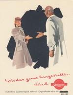 Ansichtskarte Darmstadt 1943 Optonicum Merck, Medikament, Arzt, Blutarmut, ... - [7] République Fédérale