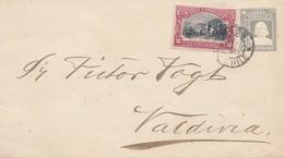 Chile: 1910: Letter To Valdivia - Chile
