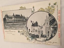 Paris, Exposition Universelle 1900 - Ville De Paris - Maroc - Expositions
