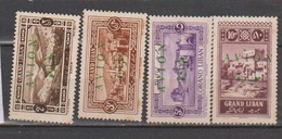 GRAND LIBAN       N° YVERT   PA 9/12   NEUF SANS CHARNIERES     ( NSCH 1/25 ) - Great Lebanon (1924-1945)