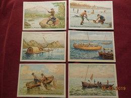 Images ( Tisanes Des Pères Célestins) Serie Sur La Pêche (20) - Vieux Papiers