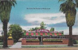 Etats Unis)  LOS ANGELES  - CAFÉ De PARIS  Jean And Michel's - 7038 Sunset Blvd. HOLLYWOOD 28 Calif - Los Angeles