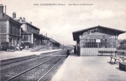 60 - Oise - CLERMONT - La Gare  - Vue Interieure - Clermont