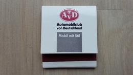 Zündholzheftchen Mit Werbung Für Einen Automobil-Club (Deutschland) - Zündholzschachteln