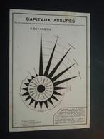 Buvard CAPITAUX ASSURES, L'Assurance Moderne. 1929 - Banque & Assurance