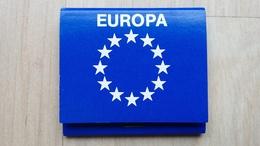 Zündholzheftchen Mit Darstellung Des Europa-Symbols (Deutschland) - Zündholzschachteln