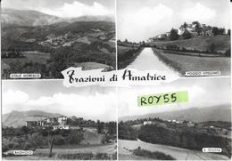 Lazio-rieti-amatrice Vedute Vedutine Frazioni Di Amatrice Colle Moresco Poggio Vitellino Bagnolo S.giusta - Italia