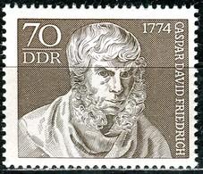 DDR - Mi 1962 Aus Block 40 - ** Postfrisch (C) - 70Pf             Caspar David Friedrich - [6] République Démocratique