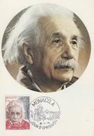 Carte  Maximum  1er  Jour   MONACO     Albert   EINSTEIN   1979 - Albert Einstein